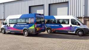 Weston College - Half Vehicle Wraps